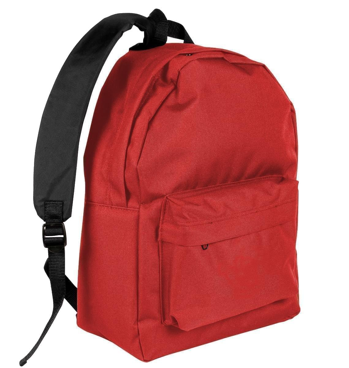 USA Made Nylon Poly Backpack Knapsacks, 8960-600