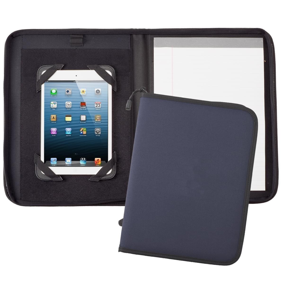 Tribeca Tablet Folio with Zipper Closure