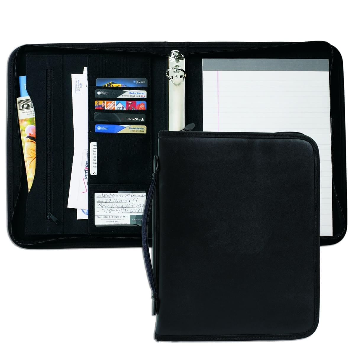 "Tribeca 1"" Zipper Ring Binder with Handle"