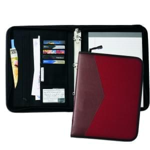 "Tribeca Dual Tone 1"" Zipper Ring Binder"