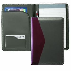 Accent Stitched Junior Folder